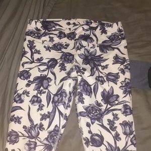 Fabletics flower leggings